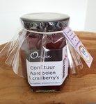 Origin confituur Aardbeien Cranberry's