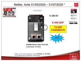 Melitta Avanza 270-100 Mystic Titan