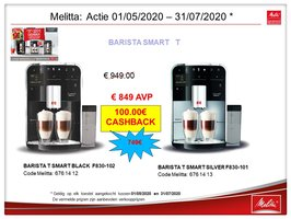 Melitta Caffeo Barista Smart T