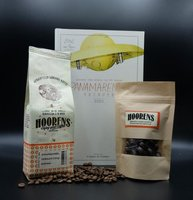 Cadeau Panamarenko cataloog met koffie en chocolade