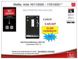 Melitta Caffeo Solo Perfect Milk DeLuxe E957-305