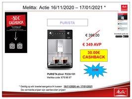 Melitta Caffeo Purista Zilver 230-101