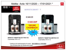 Melitta Caffeo Barista Smart T F830