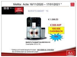 Melitta Caffeo Barista Smart TS silver F850-101
