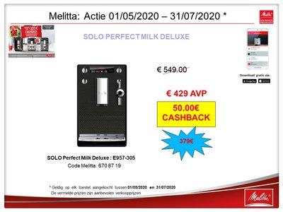 Promo Solo Perfect Milk Deluxe E957-305