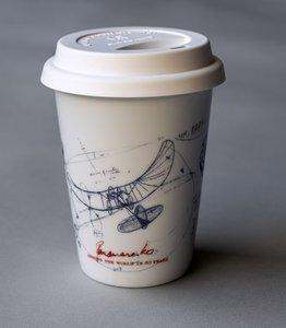 Coffee on the go beker Panamarenko