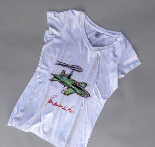 T-shirt Panamarenko Barada Jet