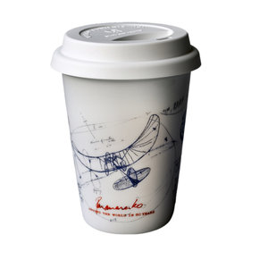 Koffietas take away Panamarenko Tribute
