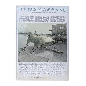 Boek Panamarenko for clever scholars met GRATIS linnen DRAAGTAS Panamarenko