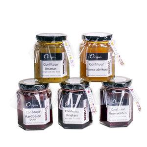 Confituur Aardbeien & Cranberry's
