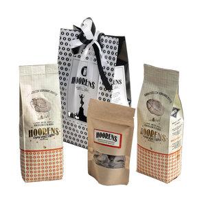 Cadeau koffie met chocolade koffieboontjes
