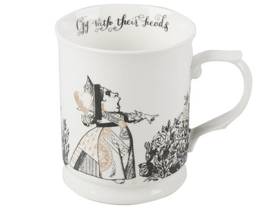 Drinkbeker 400 ml Alice in Wonderland