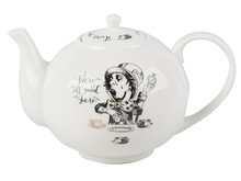 Grote theepot Alice in Wonderland porselein