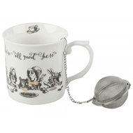 Theemok Palace met infuser Alice in Wonderland