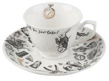 Espresso koffietas met schotel kopen Alice in Wonderland